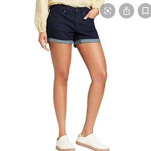 Universal Thread dark denim shorts